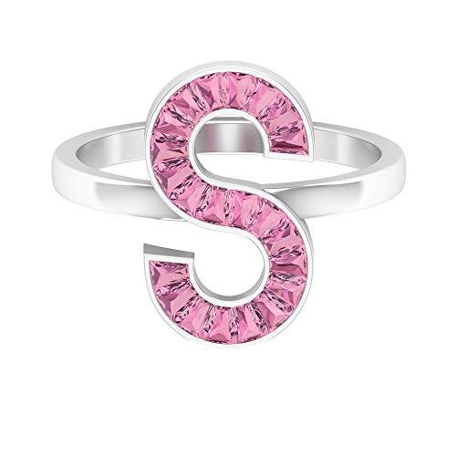 Rosec Jewels - 14 Kt Weißgold Taper Pink Turmaline