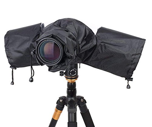 Funda Impermeable para Cámara de Fotos Canon Nikon y Otras Cámaras Réflex Digitales de Lluvia, Suciedad, Nieve, Protección #980709
