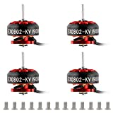 4Pcs Ex0802 19000Kv Motor sin Escobillas 1S Micro Motor sin Escobillas para 65-85Mm FPV Racing Drone Quadcopter