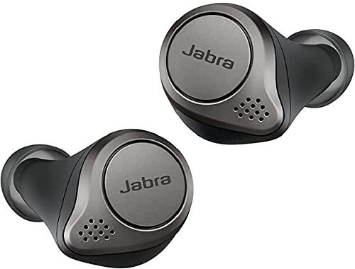 Jabra 完全ワイヤレスイヤホン アクティブノイズキャンセリングElite 75t チタニウムブラック Bluetooth® 5.0 マルチポイント [国内正規品]
