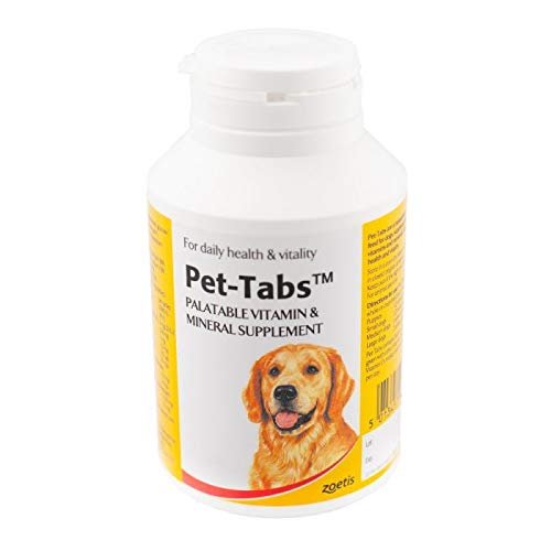 Pet Tabs Multivitamin and Minerals Tablets (Size: 180 Tablet Pot)