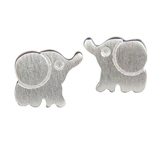 Skyeye Mode Elephant Mini Bijoux tendance Boucles d'oreille à tige pour femme Filles