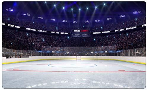 Eishockey Sport Stadion Feld Wandtattoo Wandsticker Wandaufkleber R1858 Größe 40 cm x 60 cm