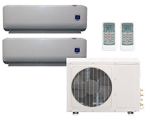 Comfee MS11M6-18HRFN1-Duo Full-Inverter Split-Klimagerät 2 x 9000 BTU inklusive Wärmepumpe, Raumgröße 2 x 32 m² , EEK: A++
