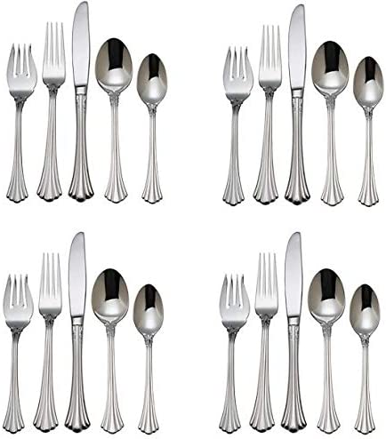 Reed Barton 1800 18 10 Cheap mail High material order sales Stainless Set Piece Steel Service 20 -