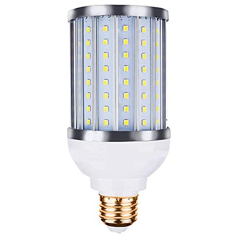 Bombilla LED E27 de color blanco frío, de aluminio, 30 W en lugar de una bombilla incandescente de 300 W, luz de inundación de 360 grados, patios, no regulable