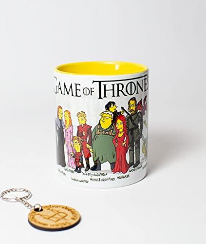 Tazas - Simpsonizados - Juego de Tronos - Game of Thrones