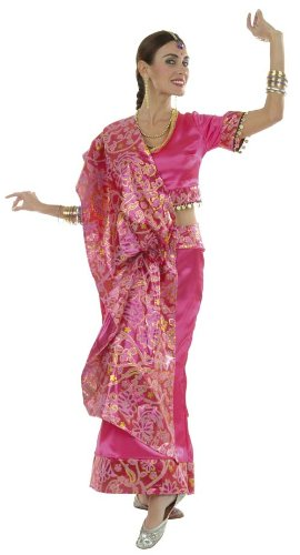 Cesar - Disfraz de bailarina india para mujer (adulto), talla 40 cm