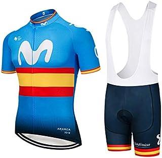 ZHLCYCL Traje Ciclismo Hombre, Maillot Ciclismo y Culotte Ci