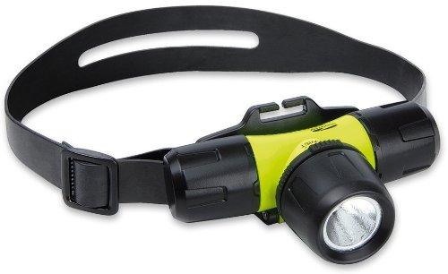 LiteXpress Stirnlampe Liberty Aqua 1 LXL10000W4, 1 Luxeon Hochleistungs-LED bis zu 146 Lumen, wasserdicht bis 30 m ANSI-Standard, gelb/schwarz