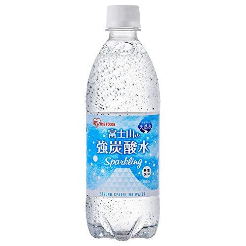 アイリスオーヤマ 炭酸水 富士山の強炭酸水 500ml ×24本