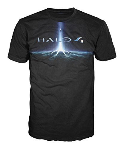 Halo 4 T-Shirt -M- Cover Logo, schwarz