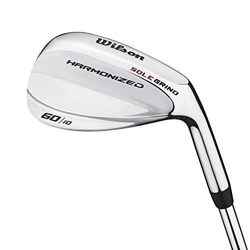 Wilson Harmonized Golf Wedge   Right Hand   Wedge Flex   Loft 60 Degree / 10 Bounce   Steel Shaft
