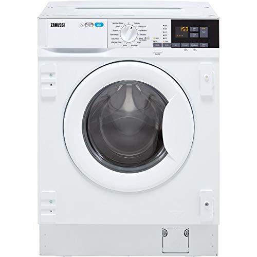 Zanussi Z716WT83BI 7kg Wash 4kg Dry 1600rpm Integrated Washer Dryer - White