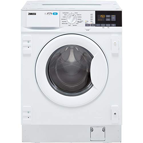 Zanussi Z716WT83BI 7kg Wash 4kg Dry 1600rpm Integrated Washer Dryer - White