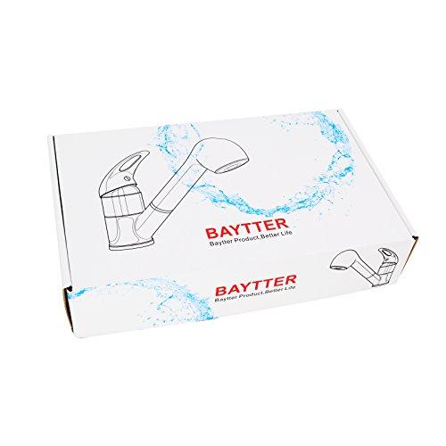 Baytter Einhebel Waschtischarmatur Wasserhahn Spültisch Küche Waschtisch Waschenbecken Bad - 2