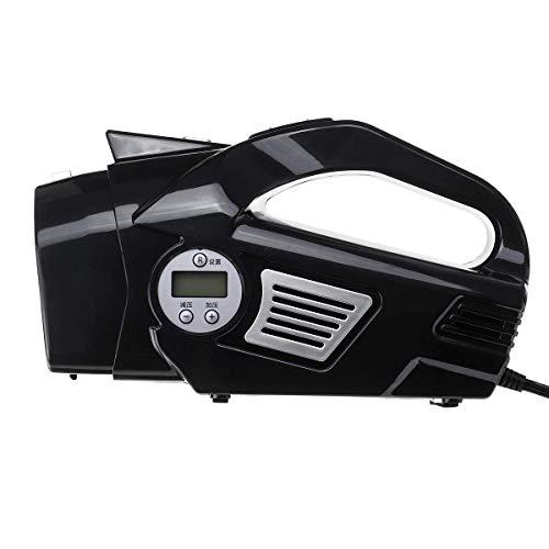 YBINGA 4 en 1 aspiradora de mano para coche inflador de neumáticos, medidor de presión, limpiador (color: B) para aspiradora (color: B)