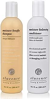 Elucence Moisture Benefits Shampoo and Balancing Conditioner Set, 10.1-Ounce
