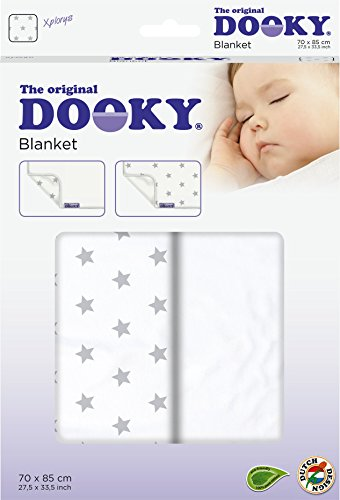 Dooky Blanket (Silver Stars) Dooky A universal and multifunctional blanket Made from 100% luxurious breathable cotton Perfect for any car seats, pushchairs, prams or carry cots 2