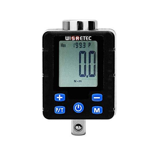 HONYGE LXGANG Llanders Alta Precisión Gran Pantalla electrónica Digital torquímetro Ajustable dinamométricas Adaptador Profesional Llave Universal