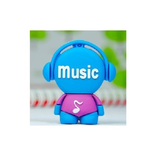 Sunworld - Chiavetta USB 8 GB 16 GB 32 GB 64 GB musica uomo chiavetta USB 2.0 Flash - blu blu blu 64Go