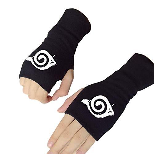 Sportstorm 2019 Naruto Akatsuki Kakashi Uchiha Itachi Sharingan Fingerlose Handschuhe Fäustlinge - H06