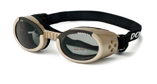 Doggles ILS Small Chrome Frame and Smoke Lens