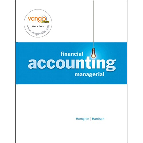 VangoNotes for Financial and Managerial Accounting, 1/e audiobook cover art