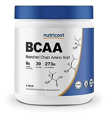 Nutricost BCAA Powder- 2:1:1