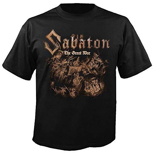 Sabaton - Hatching - The Great War - T-Shirt Größe L