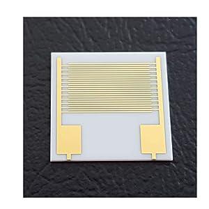 100μm Interdigital Electrodes IDE Interdigitated Capacitor Arrays Alumina Ceramic Thin Film Circuit Gold Electrode…