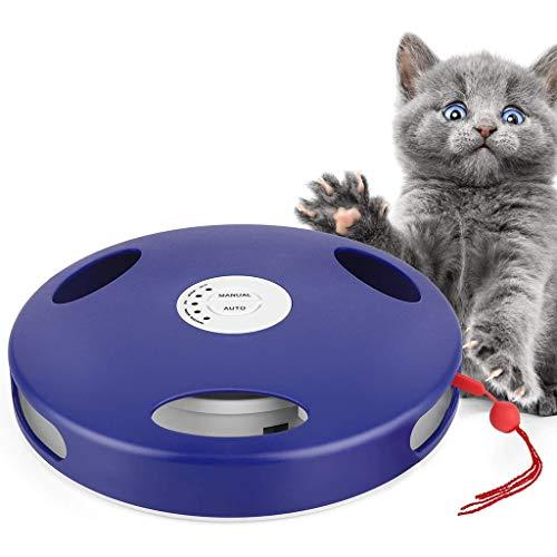 Elektrische Katze Spielzeug Interaktive Haustier-Spielzeug Mäusejagd Toy Fun Übungs Für Katzen Anspringen Katzenspielzeug Teaser Training
