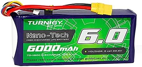 Turnigy Nano-Tech Plus 6000mAh 6S 70C Lipo Pack w/XT90