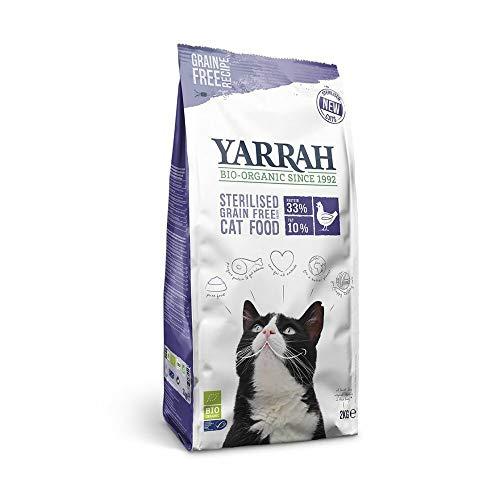 Yarrah Bio-Katzenfutter Grain-Free für sterilisierte Katze - 2 kg