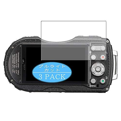 VacFun 3 Piezas Filtro Luz Azul Protector de Pantalla para RICOH WG-4 GPS, Screen Protector Sin Burbujas Película Protectora (Not Cristal Templado) Anti Blue Light Filter