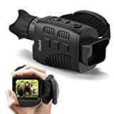 "Vmotal Digital Night Vision Monocular Infrared for 100% Darkness with 1.5"" TFT Inner Screen IR..."