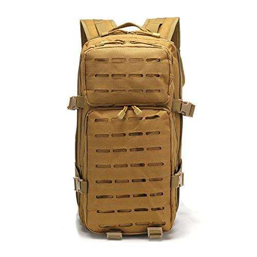 バッグスクールバッグクライミングYHHXオックスフォード布バックパック、3Dリュックドアアドベンチャー戦術迷彩バックパック屋外防水バックパックレトロなバックパック迷彩戦術的なバックパック,Mud