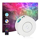 Galaxy Projector with Nebula Cloud, Starlight Projector, Skylight Projector, WiFi Night Light Projectorfor Bedroom, Home Theatre,Party Decoration,Works with Alexa & Google Home,Controlled by APP
