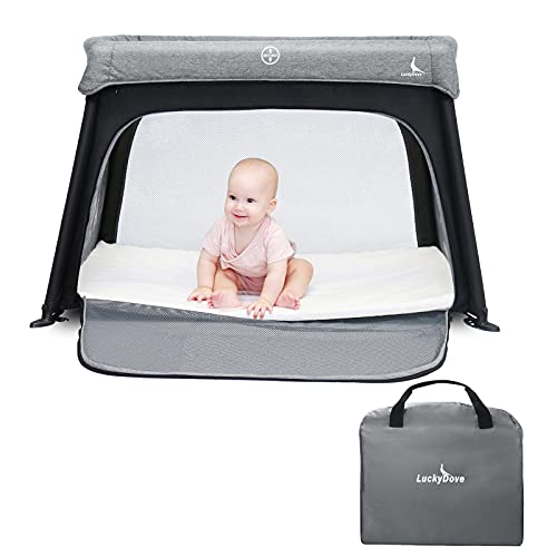 LuckyDove Portable Travel Crib&Pack n...