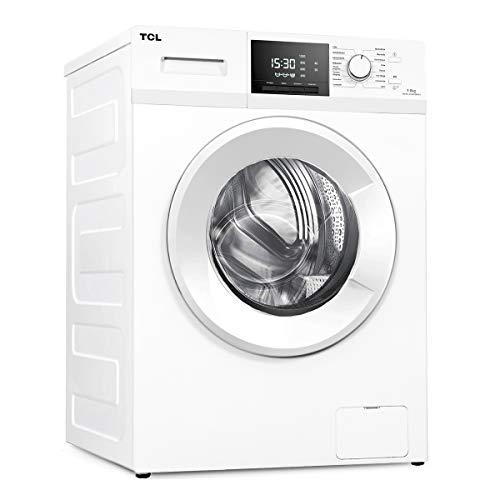 TCL TWF-90-M14303BA03 Waschmaschine / 9kg / 56cm Tief / 60cm Breit / 199kWh / 1.400U min/Wabentrommel / 16-Reinigungsprogramme/AutoClean