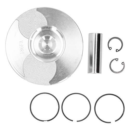 Piezas del motor Kit de pistón Conjunto de anillo de pasador de anillo de seguridad de aleación Accesorios de generador de gasolina Motor de motor diésel Suministros industriales