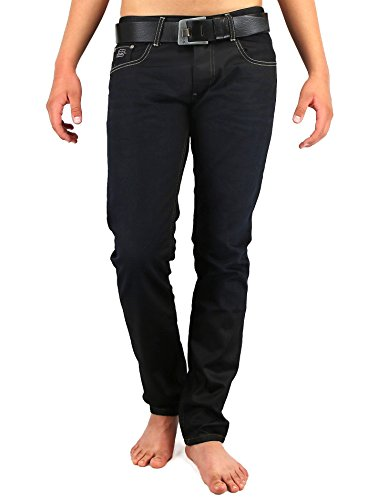 Jeel Herren Jeans Slim Fit Black 151534 (W29 L32)