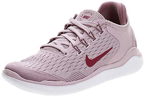 Nike Womens Flex 2017 Rn Low Top Slip, Plum Chalk/True Berry/Plum Dust, Size 8.5