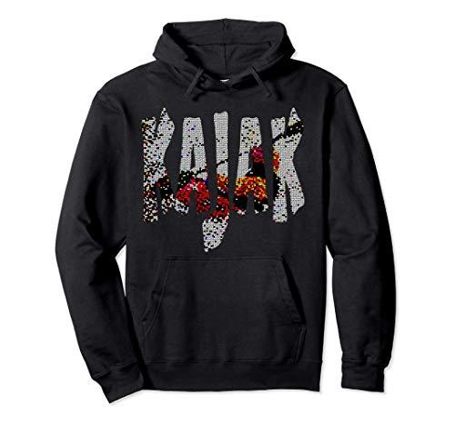 Kanu, Kajak, Kanadier und Paddeln, Kajak ! Pullover Hoodie