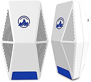 JNK 2020 Ultrasonic Pest Repeller, Pest Control Electronic Plug in Repellent Indoor for Flea, Insects, Mosquitoes, Mice, Spiders, Ants, Rats, Roaches, Bugs, Non-Toxic, Humans&Pets Safe (2 Pack)