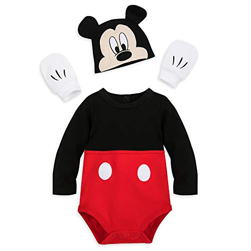 Disney Mickey Mouse Costume Bodysuit for Baby, Size 9-12 Months