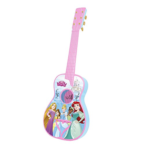 REIG 5282 Disney Prinzessinen Spanische Gitarre mit 6 Saiten