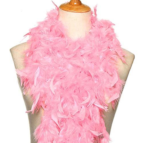 Feder-2M Kostüm-Abendkleid-Partei-Decoration Wedding Supplies Federn Bekleidungszubehör Streifen Apparel Fabric (pink)
