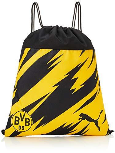 PUMA BVB Ftblcore Gym Sack Rucksack mit Kordelzug, Unisex, Erwachsene, Weiß, Einheitsgröße