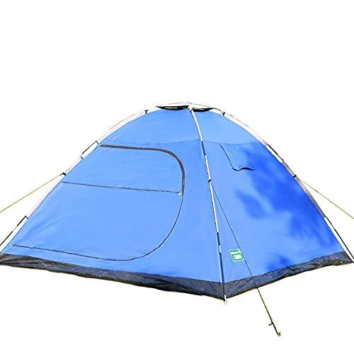 DSGTR productos al aire libre fácil construir una tienda, multi-protección, impermeable, a prueba de insectos y a prueba de sol tienda de campaña al aire libre